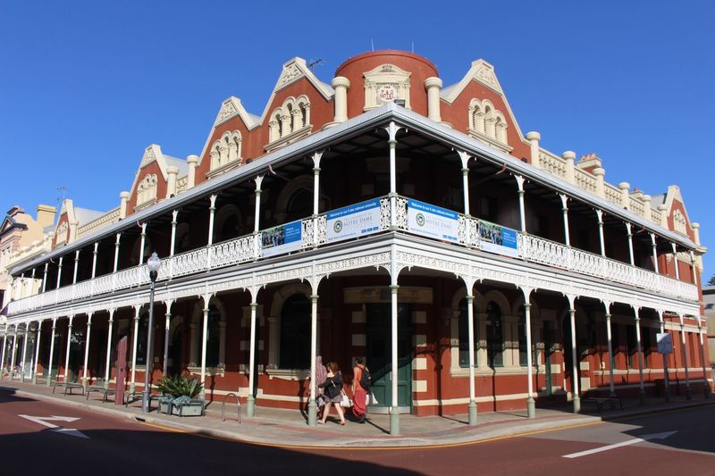 The City Light Architecture Built Structure Building Exterior Clear Sky Low Angle View City Day Outdoors Sky No People Australia Close-up Low Angle View City Clear Sky Architecture Perth Australia Freemantle