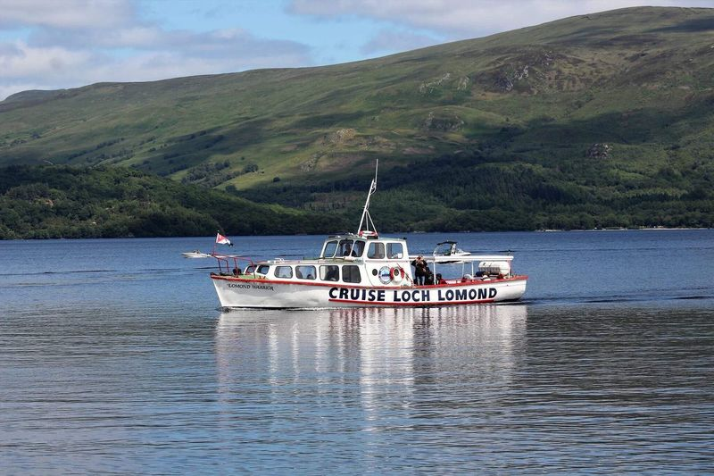 Nature Nautical Vessel Tourism Transportation Vacations Travel Sea Mountain Water Day Travel Destinations Cloud - Sky Landscape Outdoors Tranquility Scenics Beach Sky Ferry Beauty In Nature Loch Lomond Shores Sailing Mode Of Transport