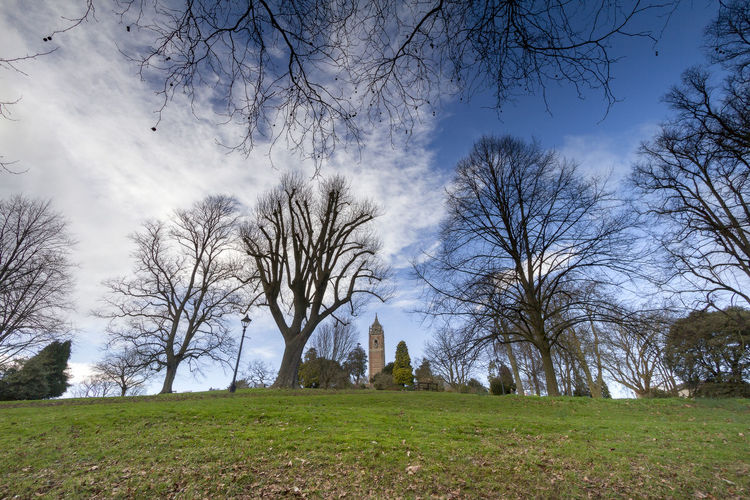 Brandon Hill, Bristol, United Kingdom Bristol United Kingdom Ancient Architecture Bare Tree Brandon Hill Building Building Exterior Built Structure Cloud - Sky Day Field Grass History Nature No People Outdoors Place Of Worship Plant Religion Sky The Past Travel Destinations Tree