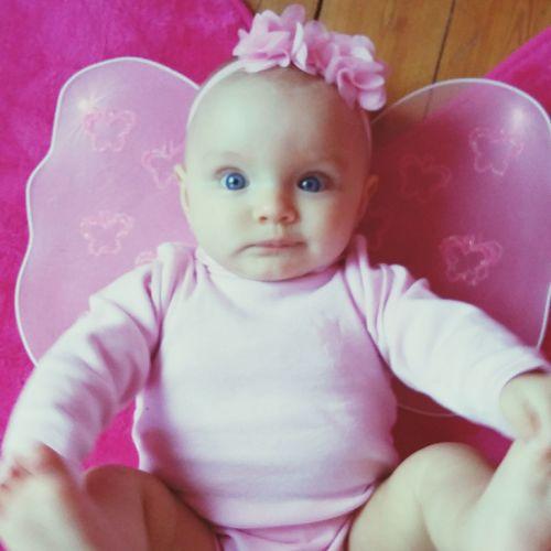 Hello World Mychild Socute💕 My Baby Girl <3 Feerique Pinkcolour Princess