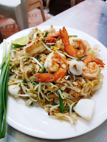 Ready-to-eat Food And Drink Food Healthy Eating Plate Freshness No People Serving Size Indoors  Close-up Day Padthai PadThaiLover Thailand Bangkok Thailand.