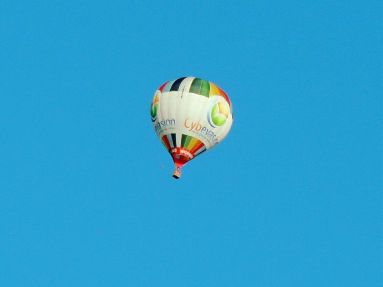 Mongolfière Sky Hope... Dreaming Rêve Flying High My Favorite Photo The Great Outdoors With Adobe Fly Away High Balloons Feel The Journey
