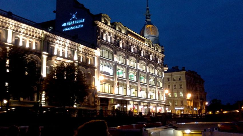 Night Architecture Illuminated Building Exterior Built Structure City Travel Destinations Arts Culture And Entertainment Outdoors Sky Politics And Government Cityscape No People Stpetersburg Spb City Spb_live Beauty Light Building Architecture House Fires