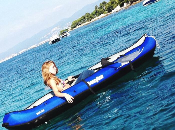 Canoe Cool Relaxing Sea And Sky Princess Sensual 💕 Bikini Time❤ Blonde Hair Blonde Girl Take Photos Life Is Beautiful Simple Life Smile Is The Best Way To Live  Simple Beauty Simple Photography Love Nice Angel Simplicity Beauty Hello World ThatsMe Goodmorning ♥ Fuckyeah Remembering This Moment