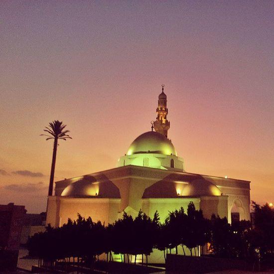 مسجد فاطمه حسن الشربتلي -التجمع الخامس Sunset الغروب