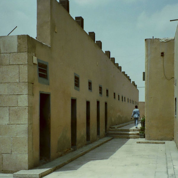 Very strange museum of imprisonment (from medieval to modern times). 1992 Analogue Photography Architecture Building Exterior Built Structure City Day Outdoors Prison Museum Scan Sky Street The Way Forward Unrecognizable Person