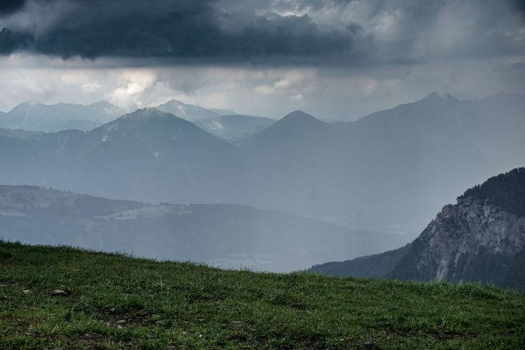 Cloudy Alpes.