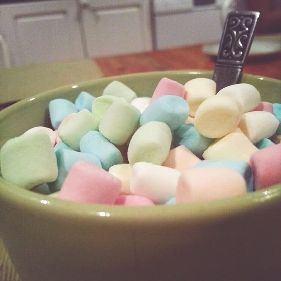 Hot chocolate and marshmallows. Perfect Saturdaynight Winter Colours