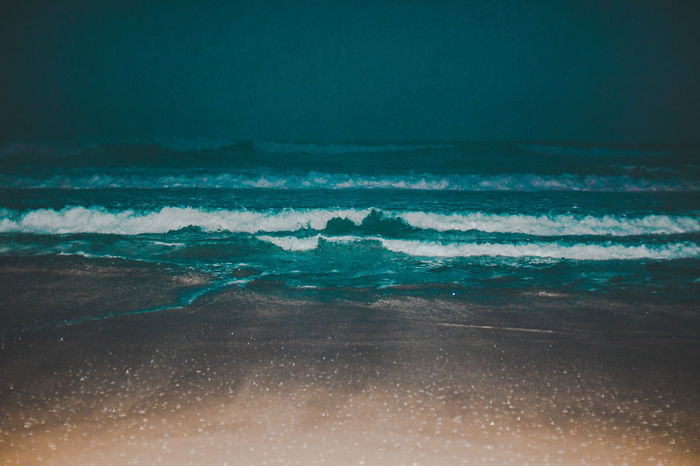 Beach by night Riptide Wave Aquatic Sport At Night Beach Beach By Night Beachphotography Ebb And Flow Ebb Tide Environment Flash Photography Horizon Horizon Over Water Land Motion Nature Outdoors Scenics - Nature Sea Seascape Sky Tide Water Wave Wind