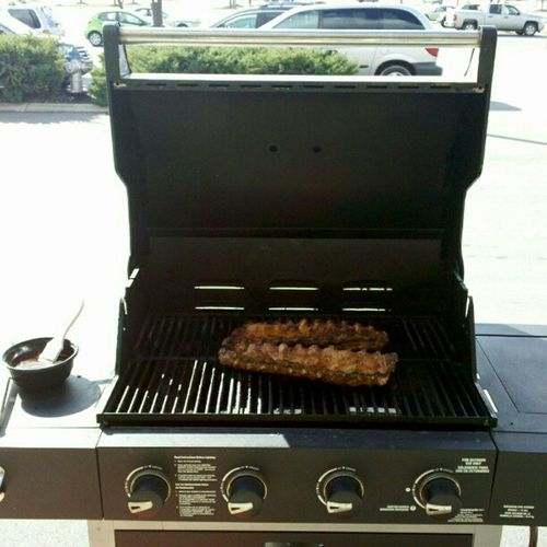 Yes im grilling at work today! Workflow Grill Grillmaster Kroger
