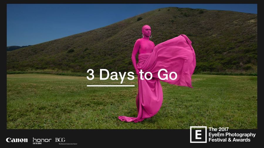 It's the final countdown: Just *three* days to go until #EyeEmFestival17 kicks off with the Awards exhibition opening! Get the full lowdown of what you can expect: https://www.eyeem.com/blog/what-to-expect-from-eyeemfestival17/