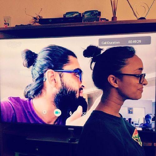 Skype Skypies Twins Messy buns messybuns samsung funtimes