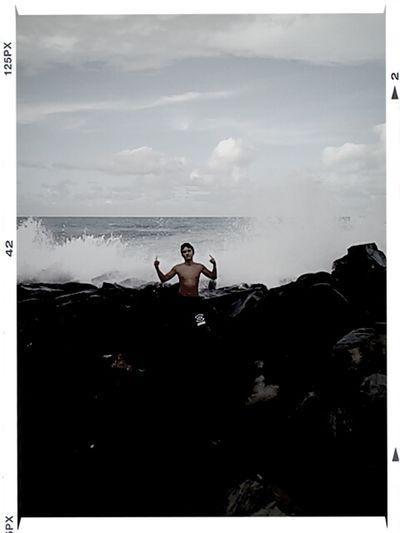 Man Vs. Ocean
