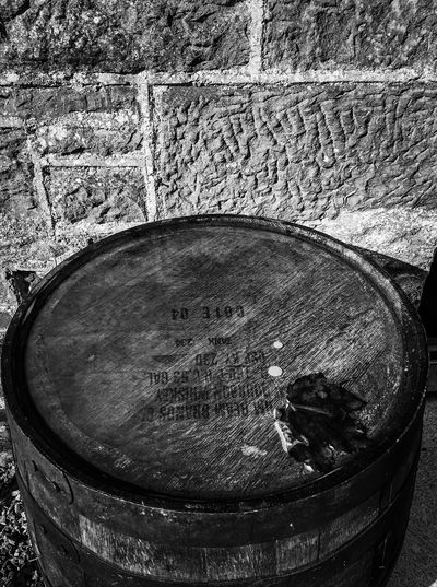 Black And White Black & White Barrel Close-up No People Pattern Water Single Object Circle Drink Wet Textured  Geometric Shape Shape