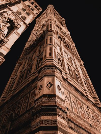 Low Angle View Built Structure Architecture Travel Destinations Building Exterior Tall - High Tourism Building No People The Past Religion Travel Office Building Exterior Skyscraper Tower Ancient Civilization City History Sky Nature