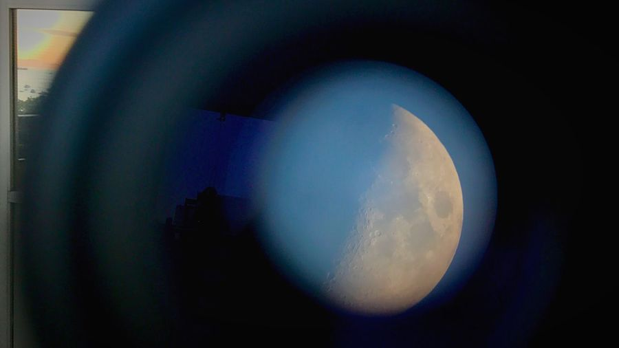 Close-up of blue sky