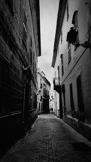 A walk in the old town, Ciutadella, Menorca Taking Photos Menorca Monochrome Architecture Streetphotography