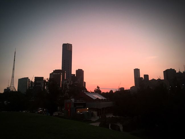 Australia Melbourne City Melbourne Melbournephotos Federation Square Federationsquare Sunset Sunset_collection Sunsetporn Sunsetlover Sunset_captures Nofilter No Filter Nofilterneeded