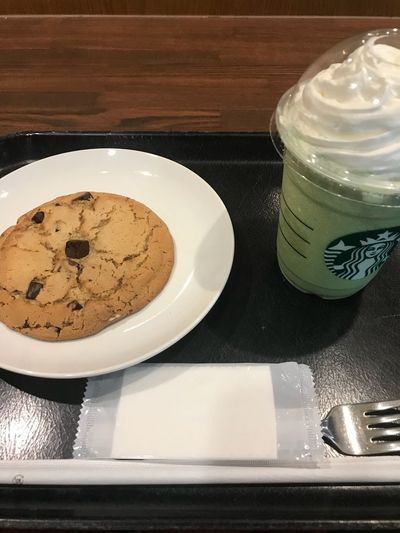 Starbucks Food And Drink Table Still Life Indoors  Freshness Food Plate