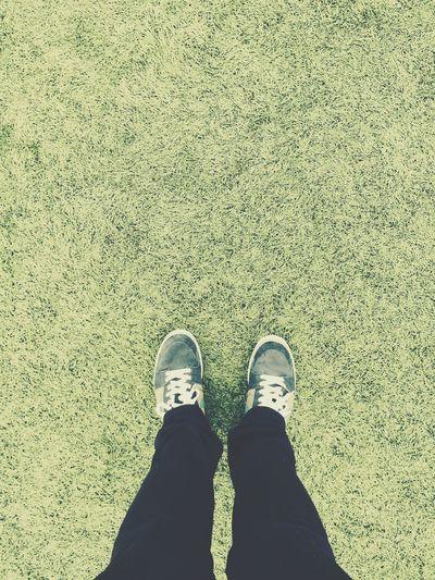 Green, 2014. Green Soccer Trainer Walking