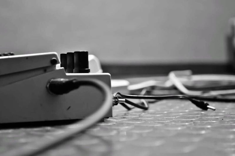 TakeoverMusic Plugged Plugged In Blackandwhite No People Music