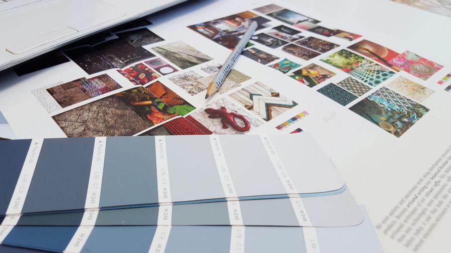 Interior Design Project Colors Pencil Color Palette Blue Artstudio Designing Designer  Inprocess