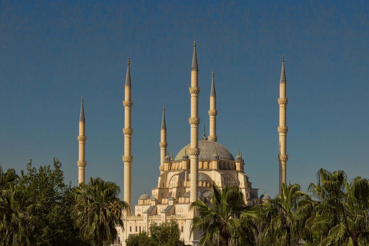 Majestic mosque in turkey