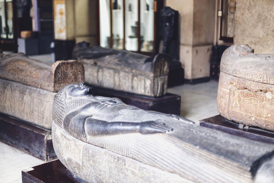 Ancient Civilization Close-up Creativity Egypt Egyptian Egyptian Mummy Egyptian Museum Egyptian Statue Human Representation Mummy Pharahos Statue Representation Still Life