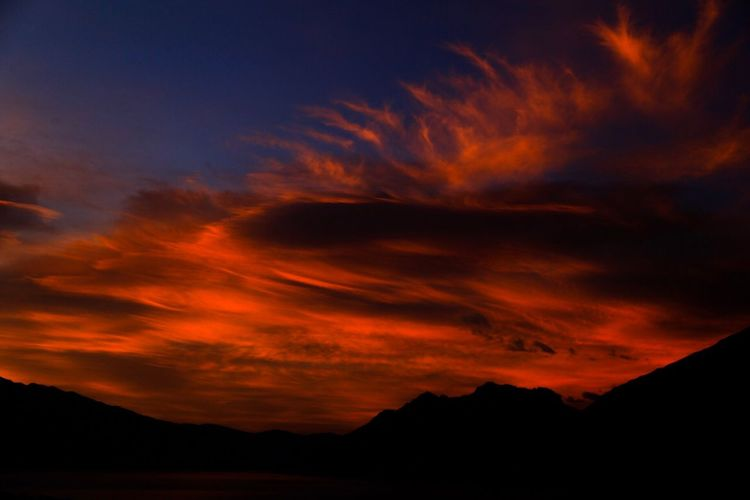 sunset CarlZeiss Planar50/1.4 Planar 85/1.4 Zeiss Carl Zeiss Canon New Zealand Scenery Newzealand NZ Sunset Silhouette Sky Beauty In Nature Cloud - Sky Scenics Dramatic Sky