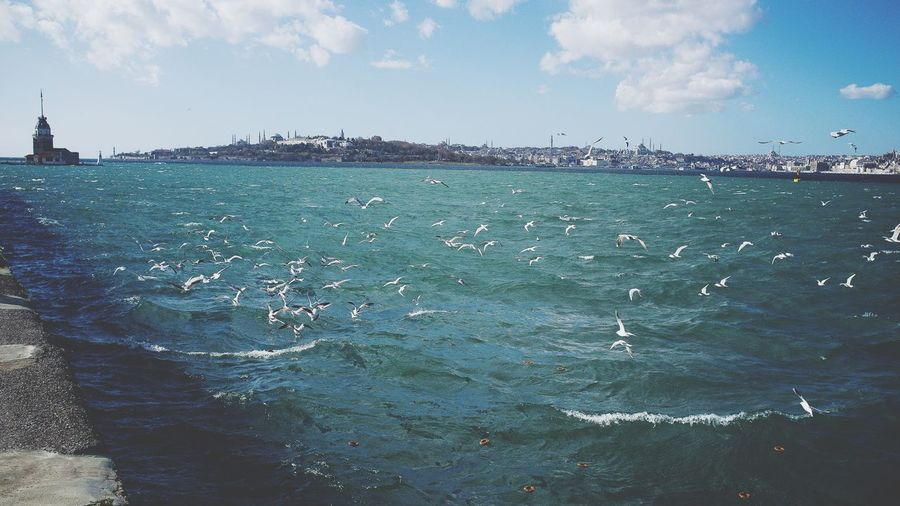 Istanbul Kris Demey Photography Beauty In Nature Horizon Over Water Sea Scenics Nature EyeEm Best Shots Beauty In Ordinary Things