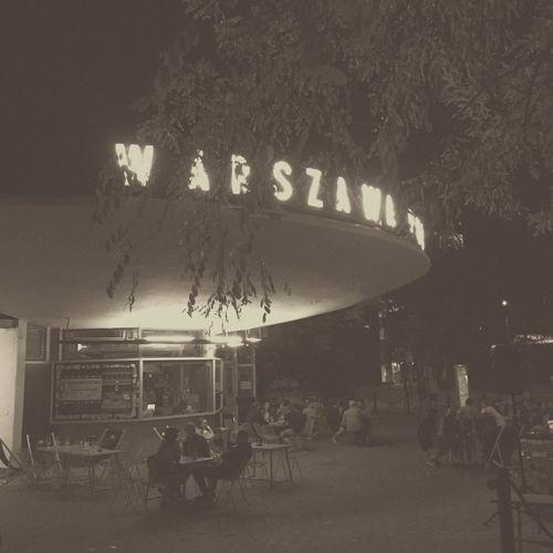 Warsaw Powiśle Warsaw Warszawa  Warszawa Powiśle Powisle Cafe Station Metro Poland Vistula