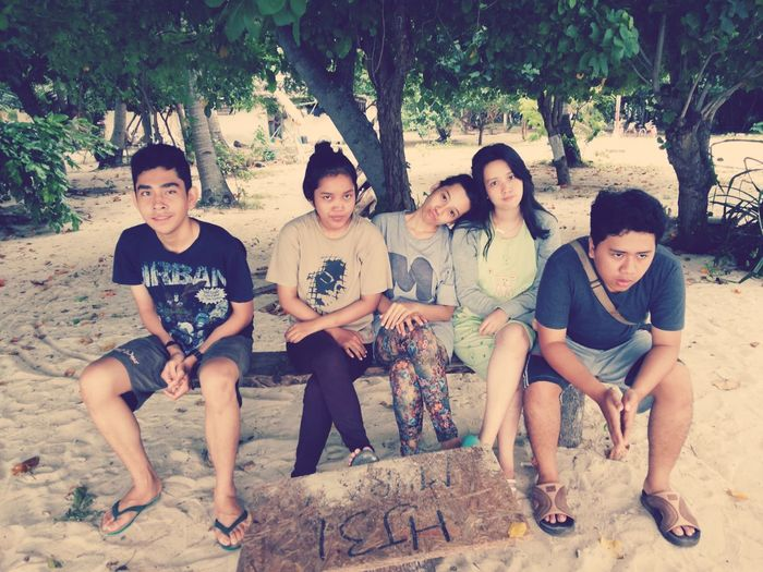 Holiday Friends Island Indonesian