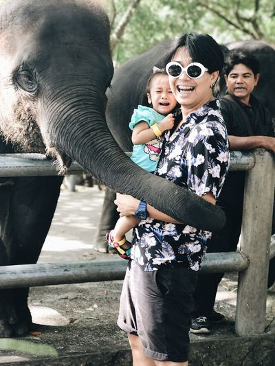 Funny time Elephant Smiling Happiness Love First Eyeem Photo