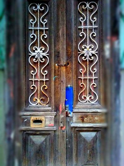 Door Protection Door Safety Doorway Entrance Closed Close-up Architecture