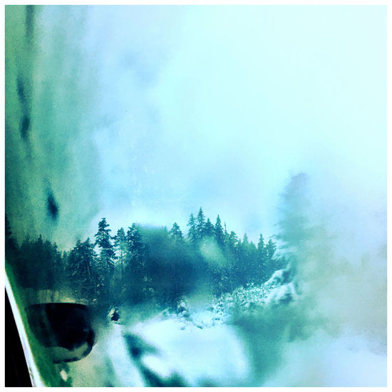 Traveling in Sweden Aquarell Ice Winter Cold Iponeography Snow White Car Window Värmland Not Warm Its Cold Outside Pastel Power Fine Art Photography Color Palette Ice Age