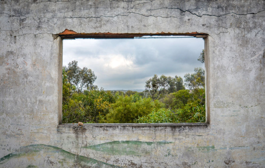 Abandoned Concrete Dark Deralict DISUSED Dramatic Miserable Nature Neglected No People Old Overcast Photography Pictureframe Portugal Used Weathered