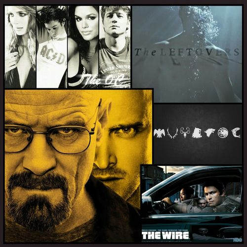 Some of my favourite tv series which I love ♡ Breakingbad Gamesofthrones TheLeftovers Thewire