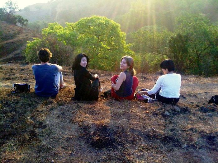 Travelers Enjoying Life EyeEm Nature Lover Yogis Enjoying Nature Mountain Hiking Friendship