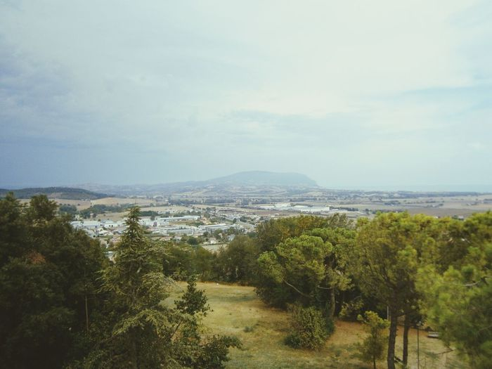 Panoramic View Traveling Italy Loreto