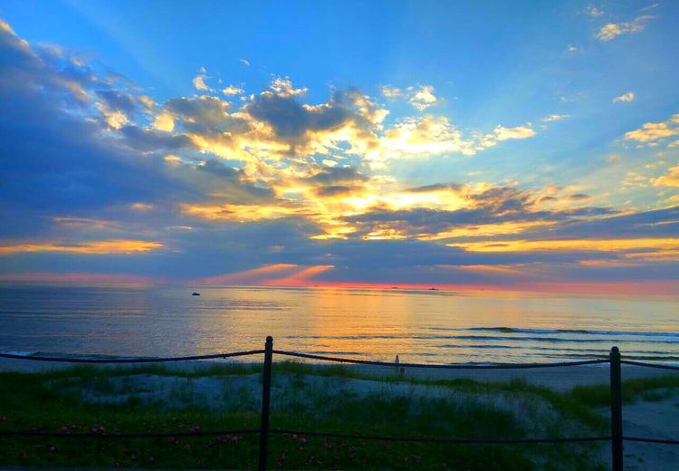 Baltic Sea Sea Sunset Beauty In Nature Horizon Over Water Water First Eyeem Photo