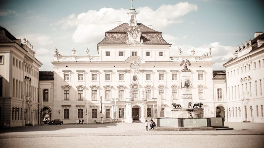 Exterior Of Ludwigsburg Palace Against Sky