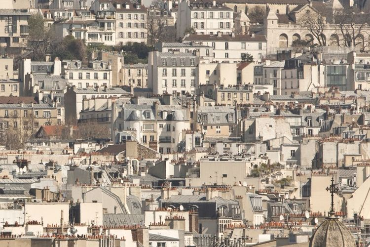 Parisian rooftops Hanging Out Getting Inspired Cityscapes Eye4photography  Traveling Paris EyeEm Best Shots Urban Geometry The Architect - 2015 EyeEm Awards