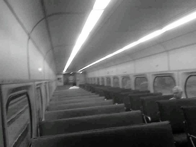 Learn & Shoot: Balancing Elements Blackandwhite Photography Empty Train Perfect Symmetry Lines And Shapes My Quirky Style
