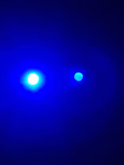 불면2 Blue Moon Illuminated Night No People Astronomy Astrology Sign Outdoors Sky