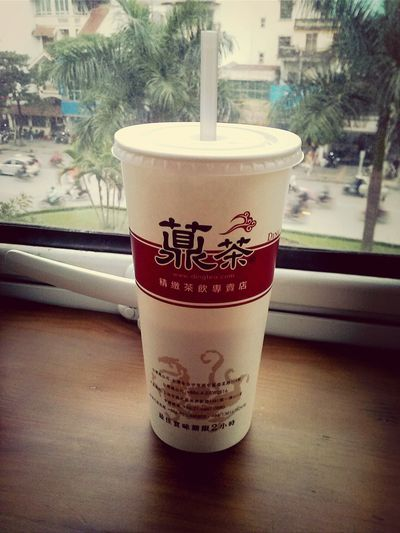 I will miss Ding Tea ._. DingTea Oolongtea Milktea Coldweather