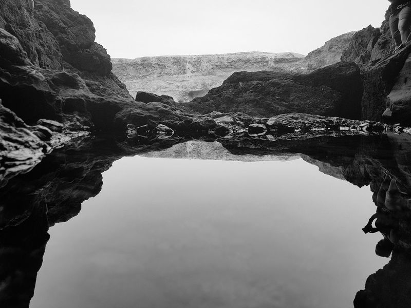 Kanarische Inseln Ajuy Ajuy, Fuerteventura Ovean Rocks Rocks And Water Cave EyeEm Selects Mountain Water Rock - Object Reflection Lake Nature Standing Water Scenics Travel Destinations Outdoors Beauty In Nature No People Day Sky