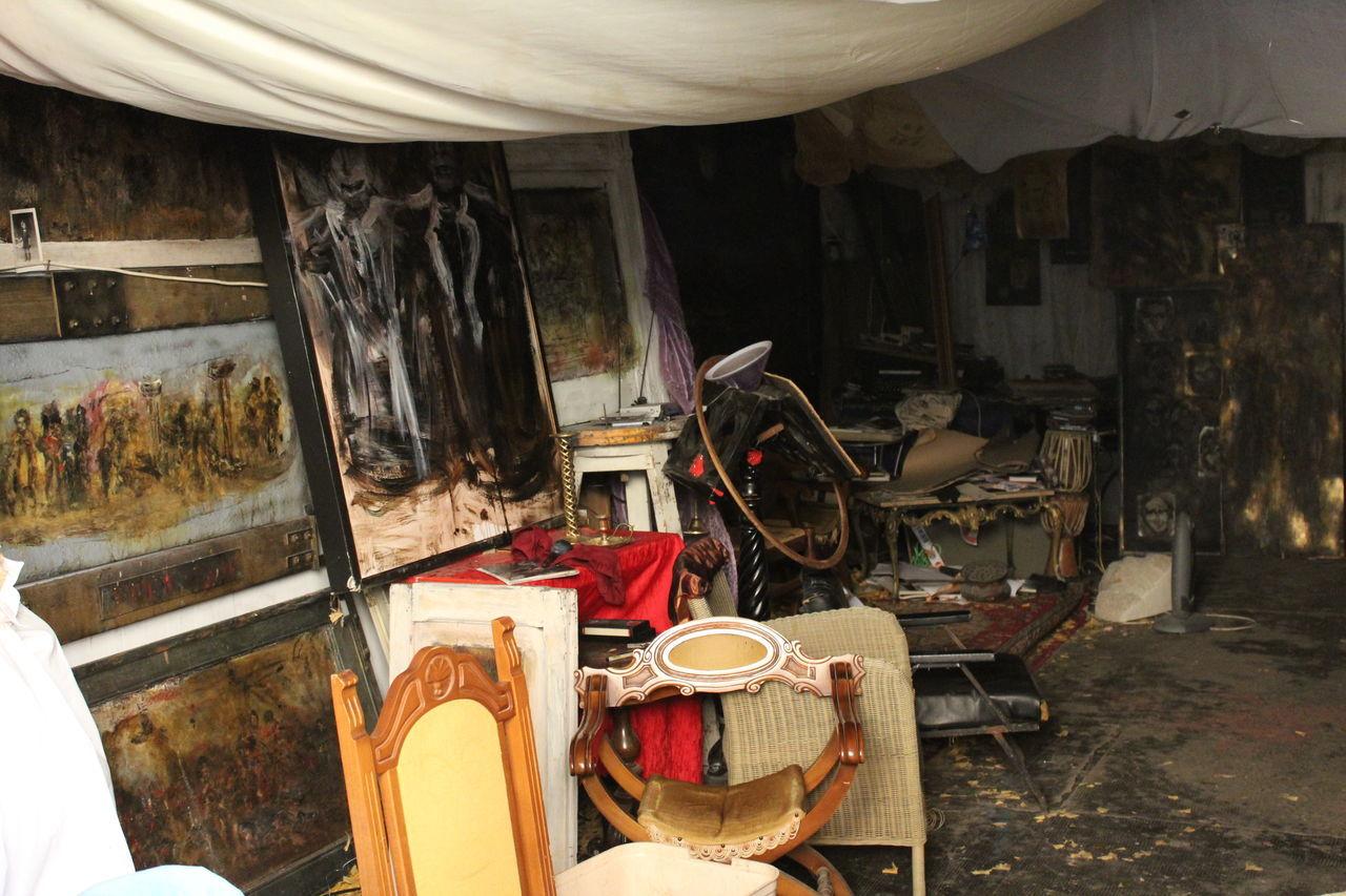 indoors, no people, workshop, day, repair shop