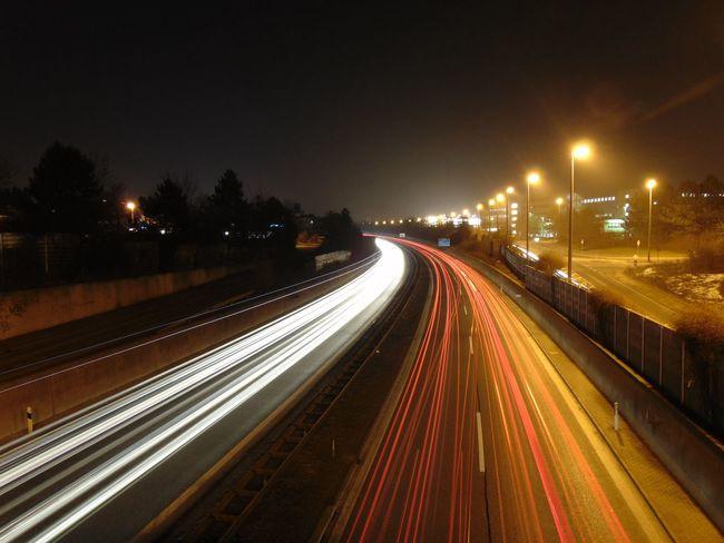 Light Light And Shadow Lights Night Lights Traffic City Night Nightphotography Night Photography Winter