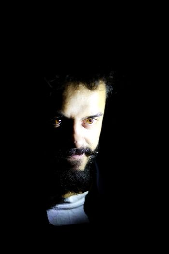 He that hath no beard is less than man. Torchlight One Person Portrait Lifestyles Beard Close-up