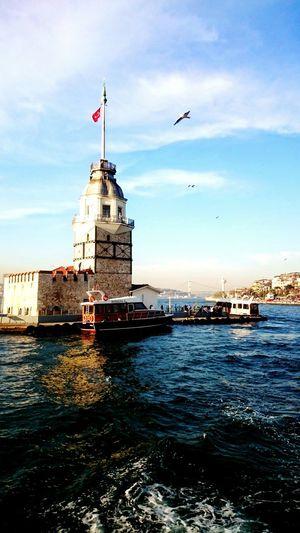 Boğaz turu Taking Photos , Sea And Sky , Kızkulesi , Perfect , Istanbull , Bogazturu , Istabuldayasam , Hello World